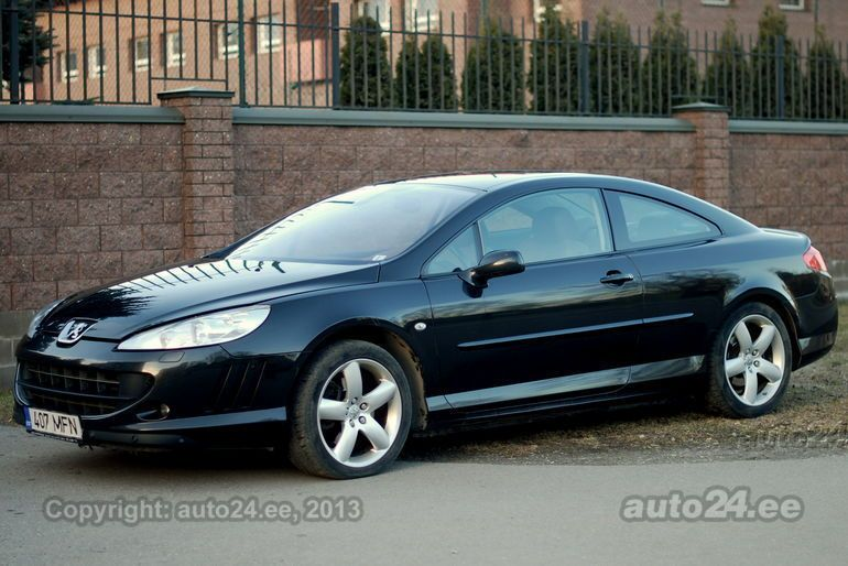 peugeot 407 coupe 2 9 v6 155kw. Black Bedroom Furniture Sets. Home Design Ideas
