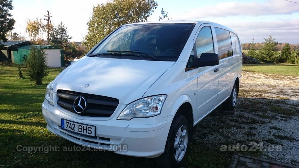 mercedes benz vito 116 cdi 4x4 2 1 120kw. Black Bedroom Furniture Sets. Home Design Ideas