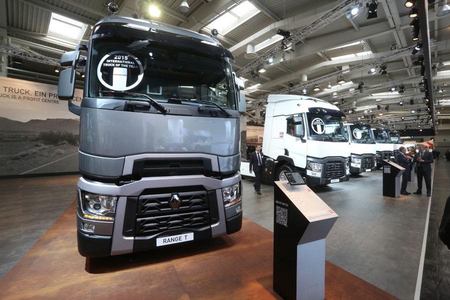 IAA 2014: Renault tähistab aasta veoki tiitlit