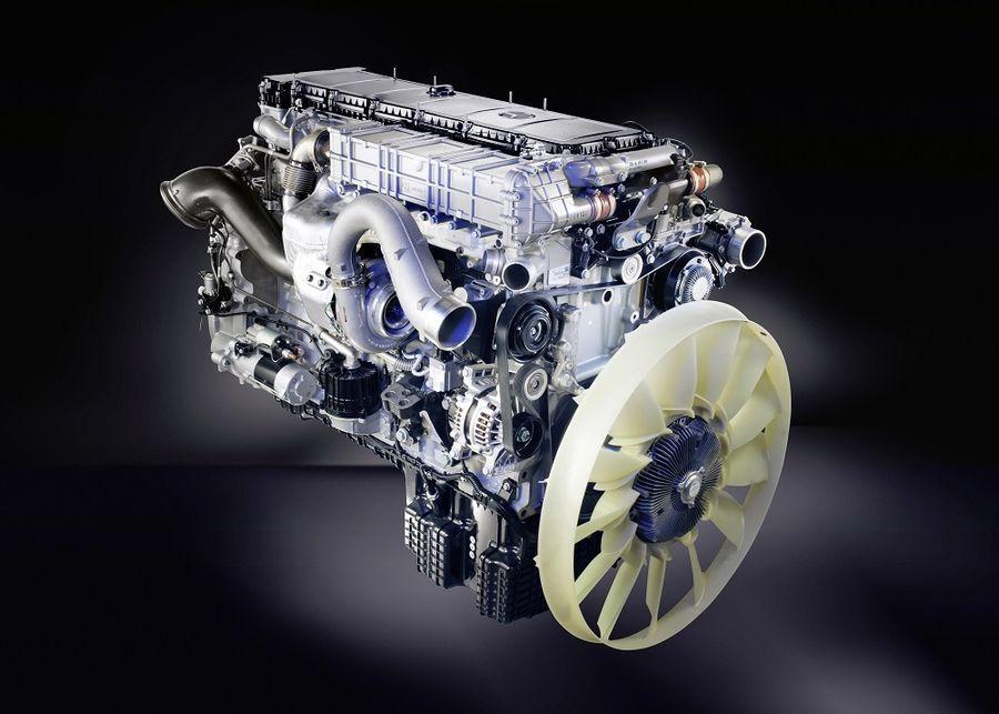 Mercedes alustas uue veokimootori tootmist