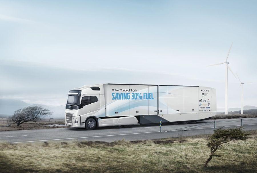 Volvo ehitas 30 protsenti ökonoomsema ideeveoki