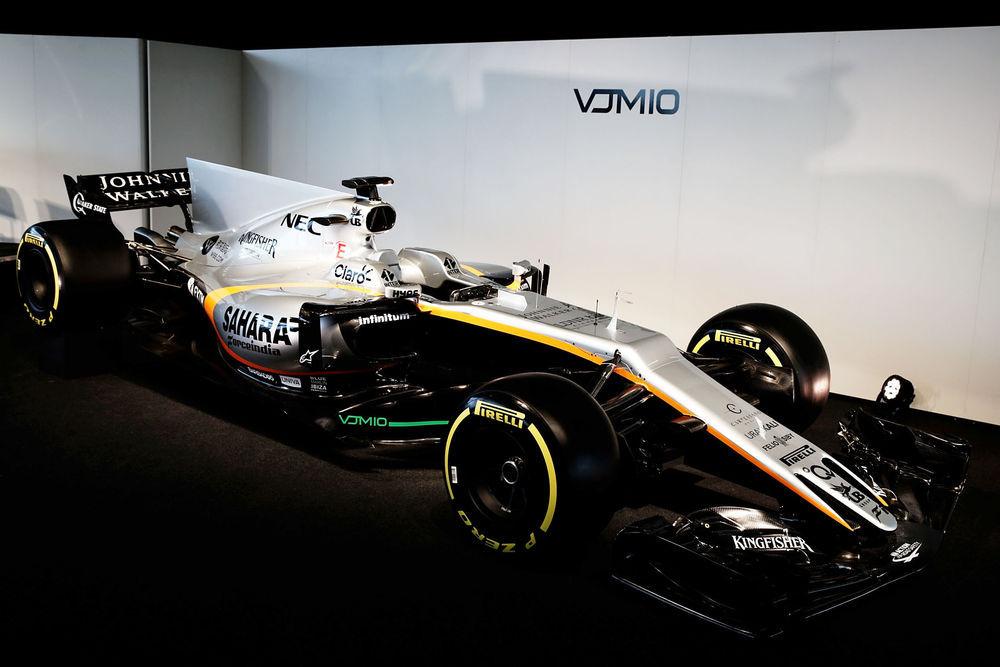 F1: Force India esitles VJM10 autot
