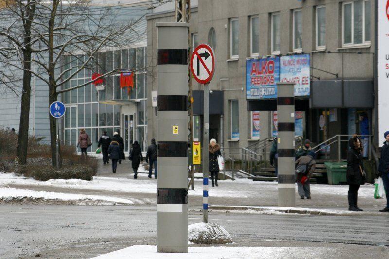 1. märtsil käivituvad kiiruskaamerad Tallinnas