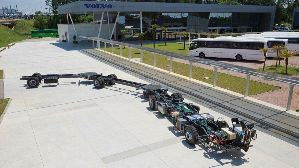 Volvo ehitab kõige pikema autobussi maailmas