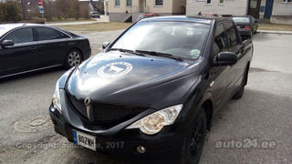 SsangYong Actyon Sports 2.0 R4 104kW