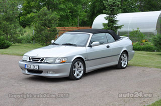 Saab 9-3 Aero Cabrio from SaabiAnti collection 2.3 Turbo B235R 191kW