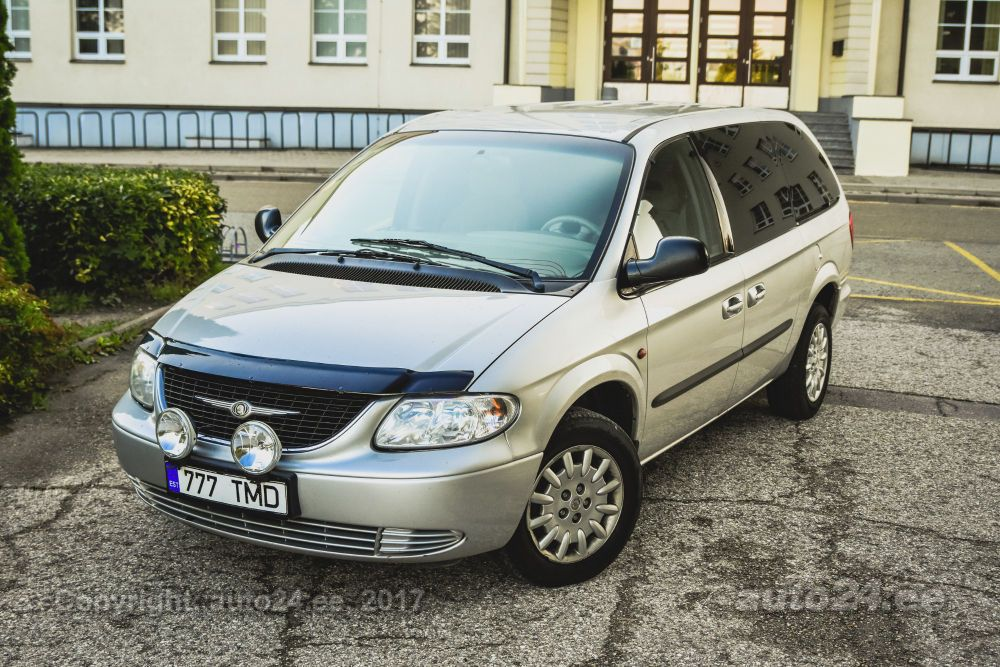 42ff904c0e9 Chrysler Grand Voyager 2.5 CRD 105kW - auto24.ee