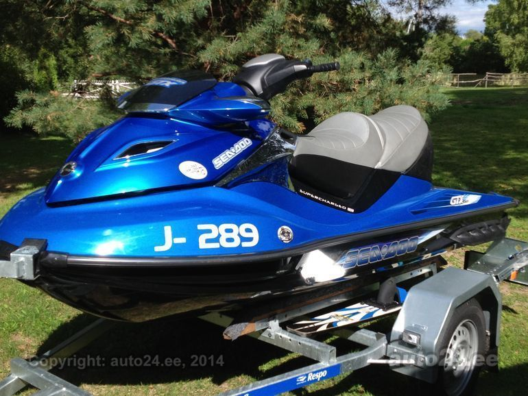 Sea Doo 1500 GTX Limited 1.5 Rotax 4-TEC 98kW