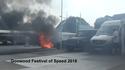 Lexuse võidusõiduauto põles Goodwoodis rusudeks