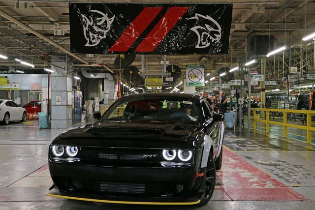 Dodge Challenger SRT Demon. Foto: FCA