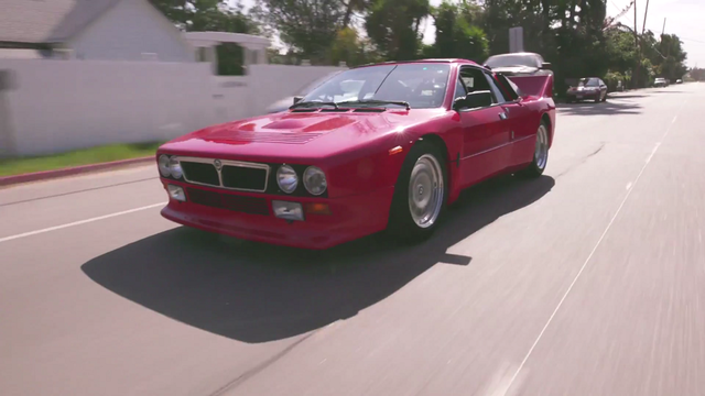 Lancia Rally 037 Stradale. Kaader: Youtube