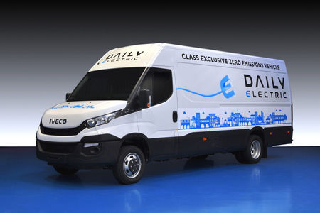Iveco Daily Electric. Foto: Iveco