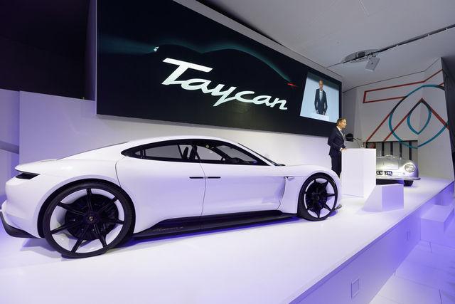 Porsche Taycan. Foto: Porsche