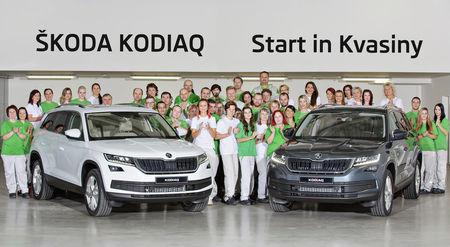 Škoda Kodiaq koosteliinil. Foto: Škoda