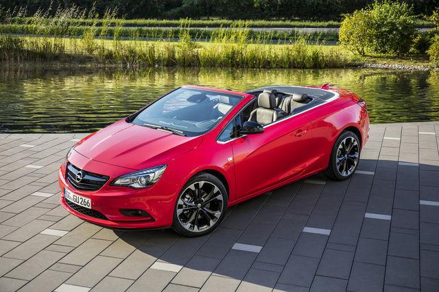 Opel Cascada. Foto: Opel