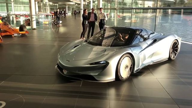 McLaren Speedtail. Kaader: Youtube