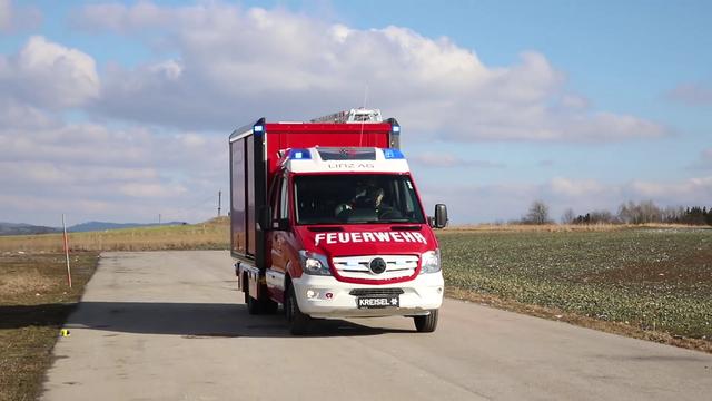 Elektriline tuletõrjeauto. Kaader: Youtube
