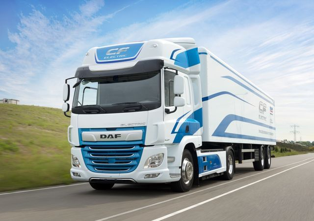 DAF CF Electric. Foto: DAF