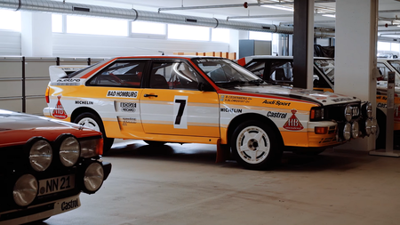 Audi Quattro Coupe. Kaader: Youtube