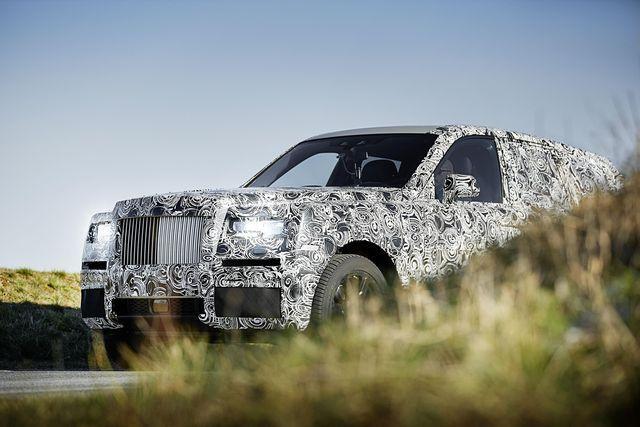 Project Cullinan. Foto: Rolls-Royce