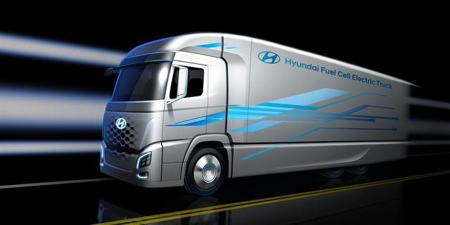 Hyundai Fuel Cell Electric Truck. Foto: Hyundai