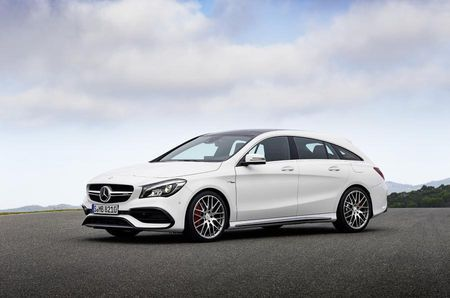 Mercedes-Benz CLA Shooting Brake. Foto: Daimler