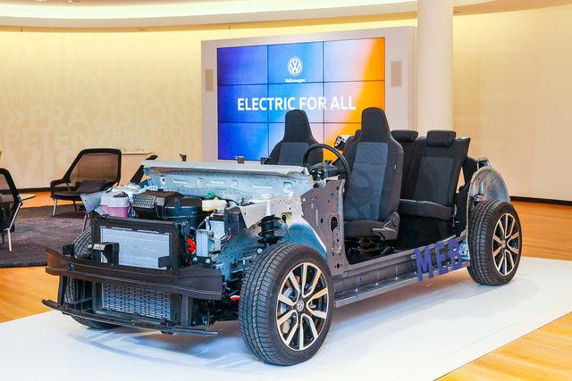 Volkswagen MEB. Foto: Volkswagen