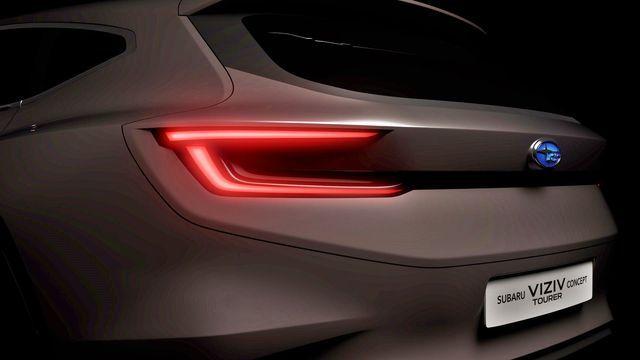 Subaru VIZIV Concept Tourer. Foto: Subaru
