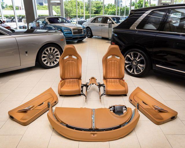 Bugatti Veyroni interjöör. Foto: Braman Motors