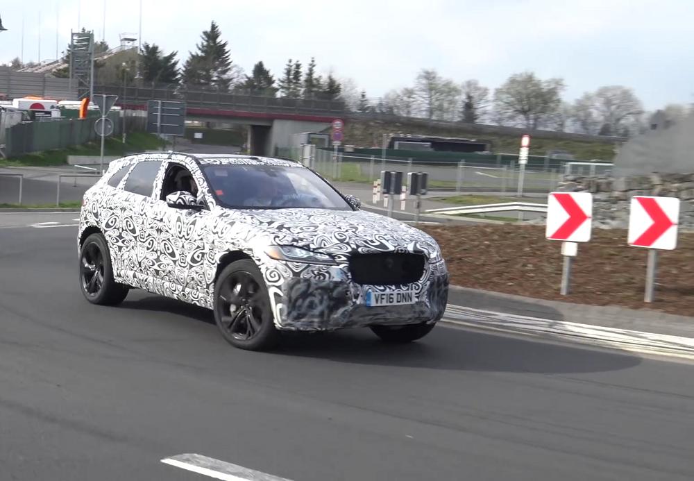 Jaguari tootevalikusse lisandub F-Pace SVR
