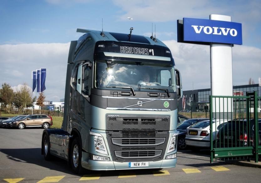 Volvo FH on aasta veoauto