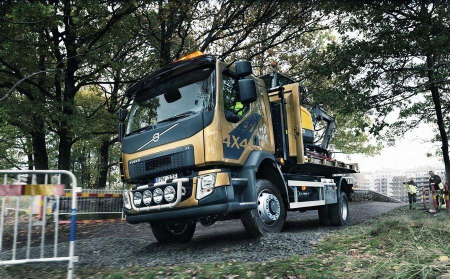 Volvo FL saab nelikveo